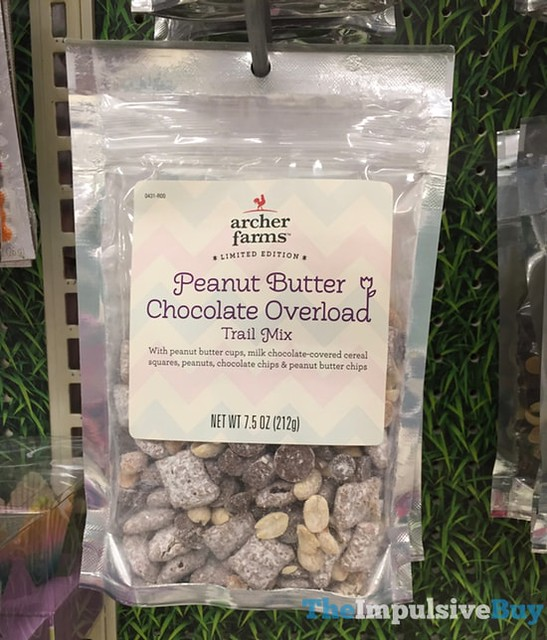 Archer Farms Limited Edition Peanut Butter Chocolate Overload Trail Mix