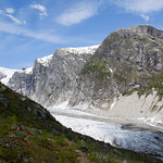 6 viajefilos en Noruega, Austerdalsbreen 08