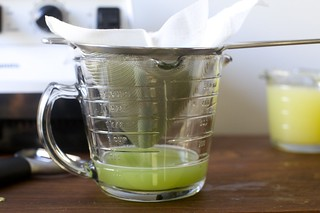 another way to strain the cucumber juice