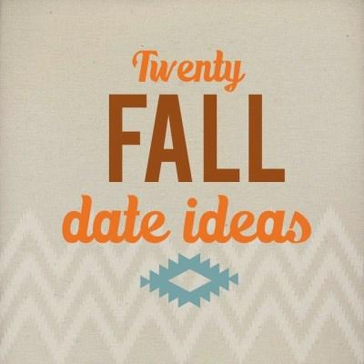 HDH 28 Fall Date Ideas