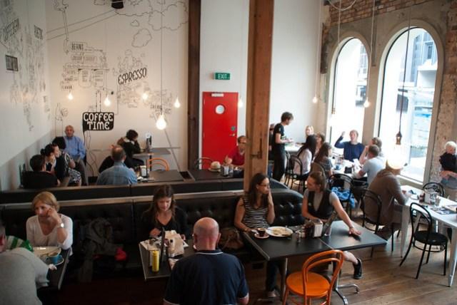 Auckland cafe