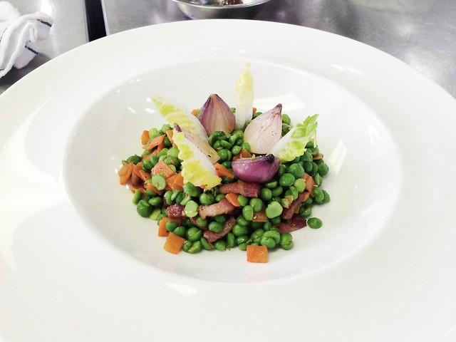 Green Peas a la Francaise