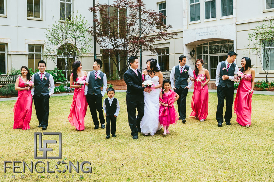 Lien & Andy Bridal Session | Emory University | Atlanta Vietnamese Wedding Photography