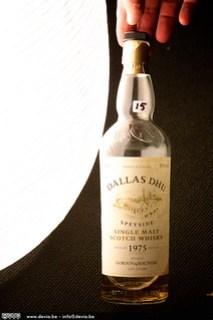 Een Dallas Dhu van 1975 ... subliem ... volgens mij ook de oudste whisky die ik ooit heb kunnen proeven!