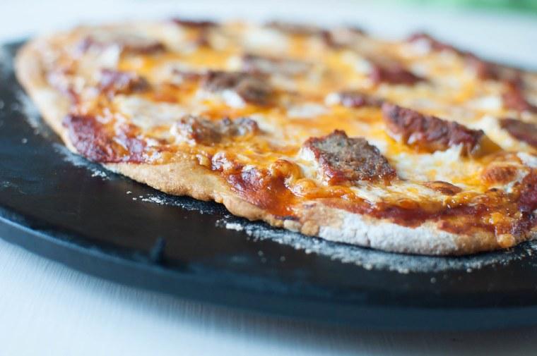 Meatball Pizza 3
