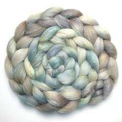 Stash: Silverwater BFL-Silk from Juliespins