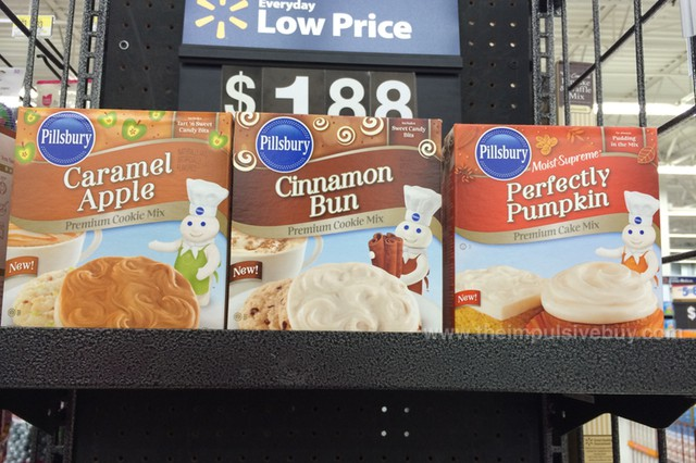 Pillsbury Cinnamon Bun Premium Cookie Mix