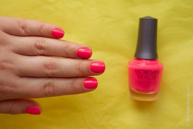 05 Morgan Taylor Pink Flame ingo