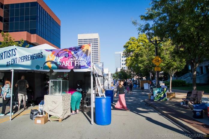 St. Louis art fair 2014