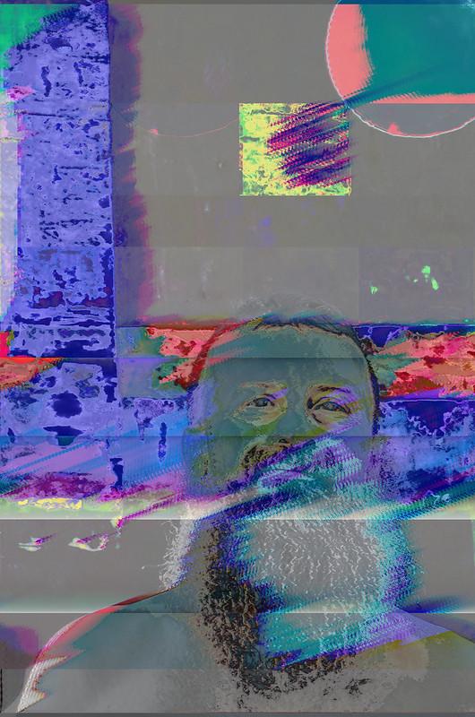 Selfie - Data Bent