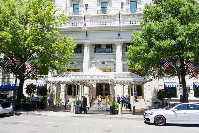 The Willard InterContinental Hotel, Washington DC.
