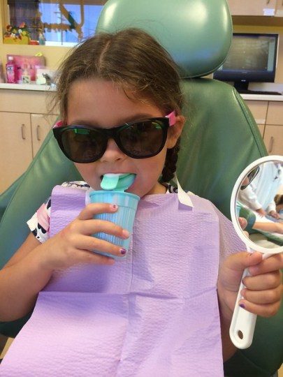 cool at the dentist
