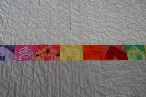 Herringbone Quilting