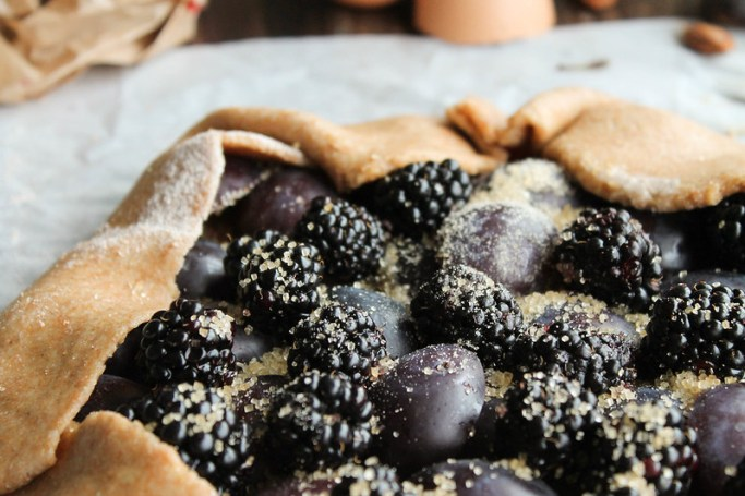 Recette tarte rustique aux prunes