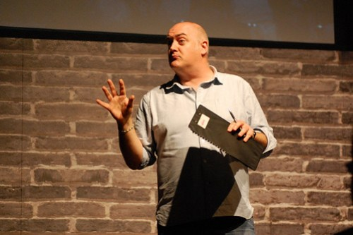 Dara Ó Briain at the 2014 Festival of Curiosity