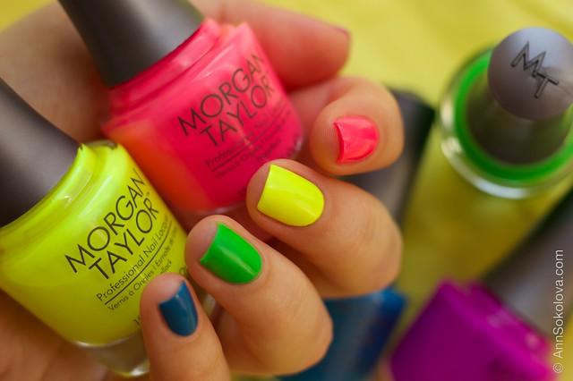02 Morgan Taylor Neon Lights nails