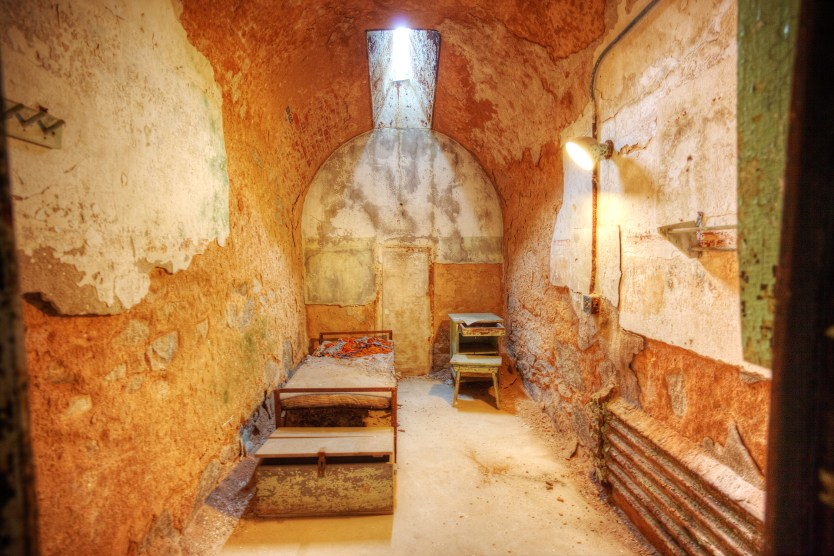 Abandoned cell, Eastern State Penitentiary.