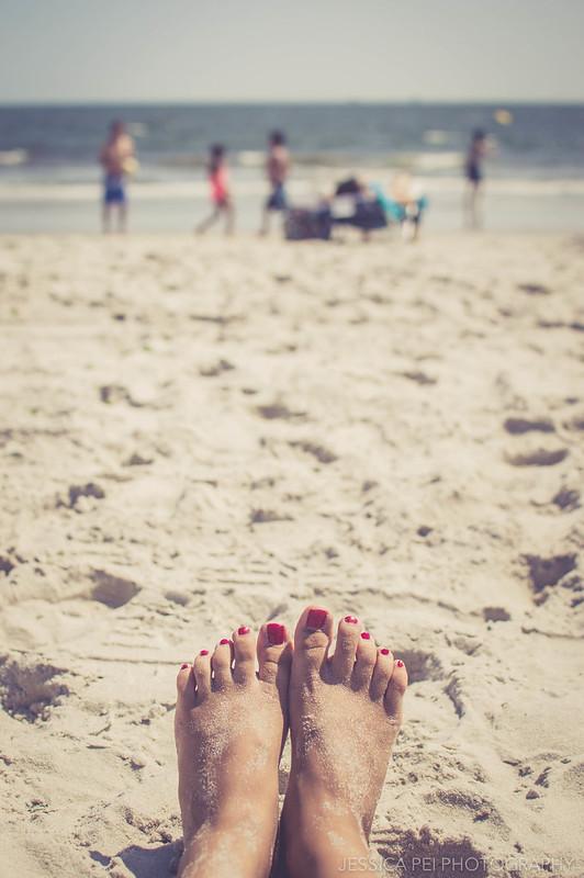 sand long beach relax