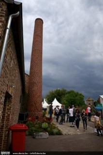 Een aankomende regenbui kon de pret op het Wilderen Whisky Weekend niet bederven!