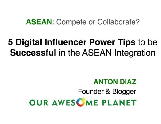 ASEAN Compete or Collaborate? - 0