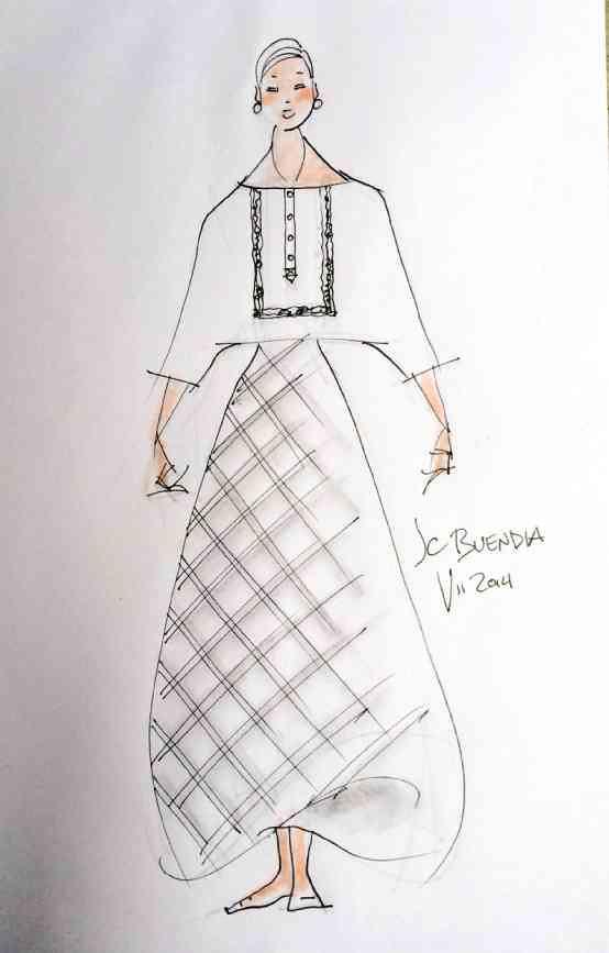 SONA 2014 Filipiniana gowns
