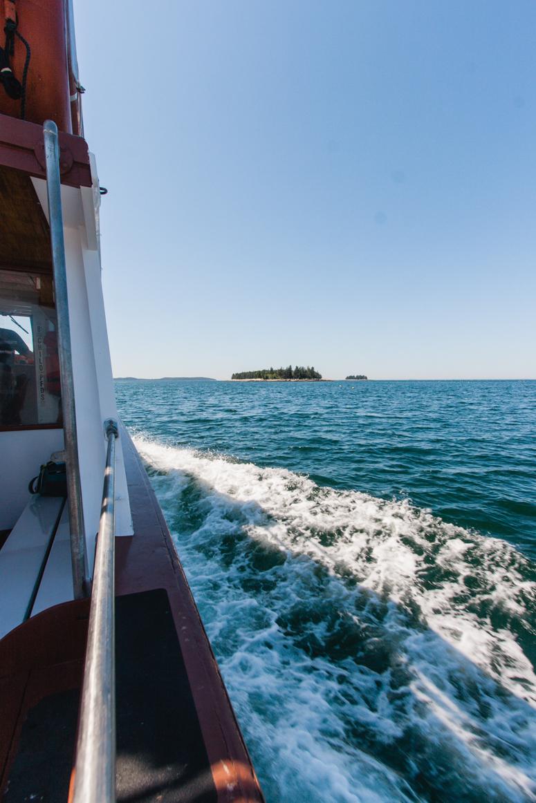 mailboat to isle au haut