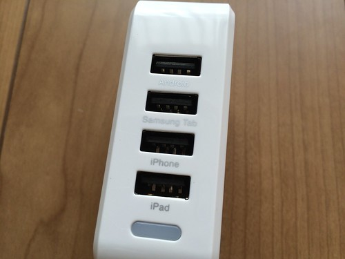 USBポートは4つ