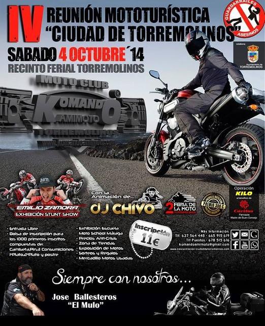 IV Reunión Mototurística Ciudad de Torremolinos