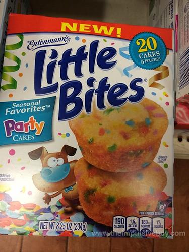 Entenmann's Seasonal Favorites Party Cakes Little Bites