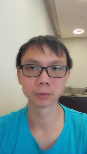 Selfie ด้วย Huawei Ascend P7 แบบ Beauty ระดับ 5