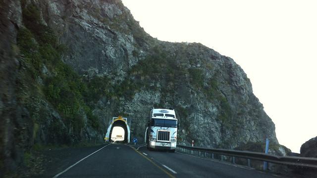 Kaikoura Twin Tunnels