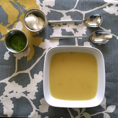 celery-celery soup arracacha