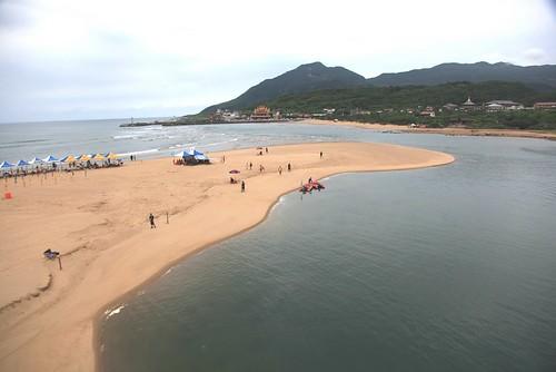 金黃色的沙灘:台北貢寮「福隆海水浴場」(9.11ys)