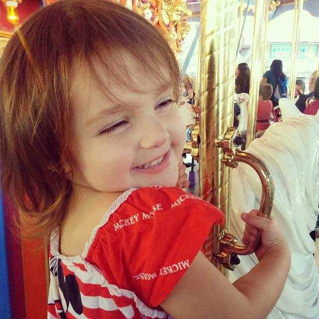 Disneyland Carousel...always a fave. :-) #kingarthurscarousel