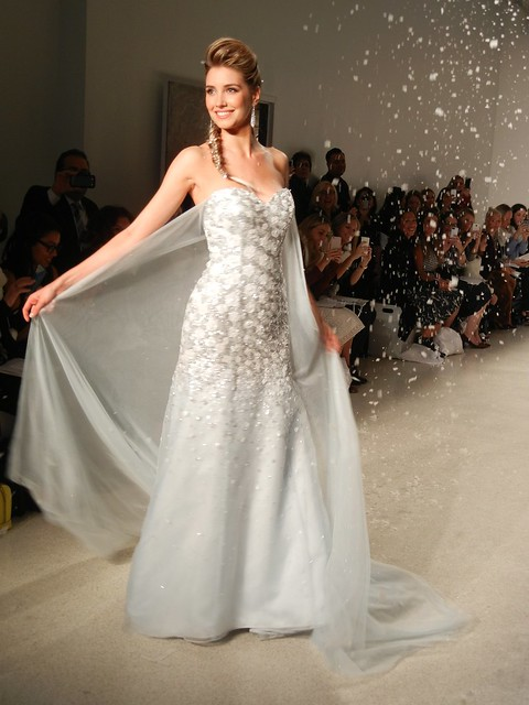 Frozen wedding dress reveal from Alfred Angelo