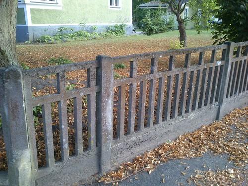 Cementstaket i Bromölla