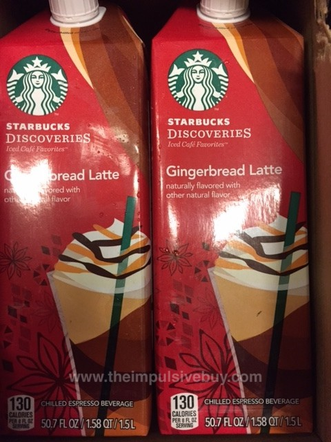 Starbucks Discoveries Gingerbread Latte