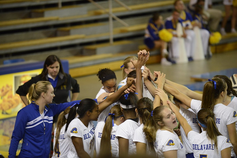 UD volleyball game 10/12/14