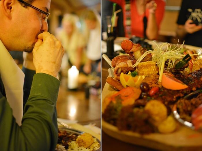 Restaurant_Camelot_Wien_Camelot-Platte für sechs Ritter