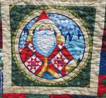 Jim Shore Christmas Quilt