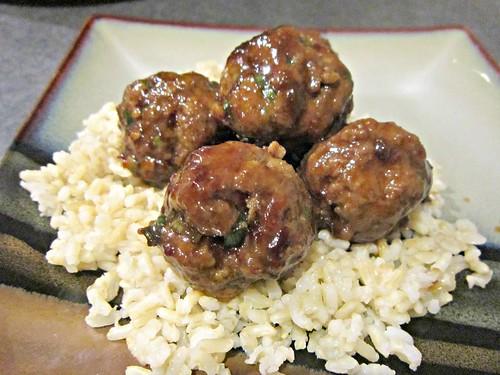 General Tso's Meatballs
