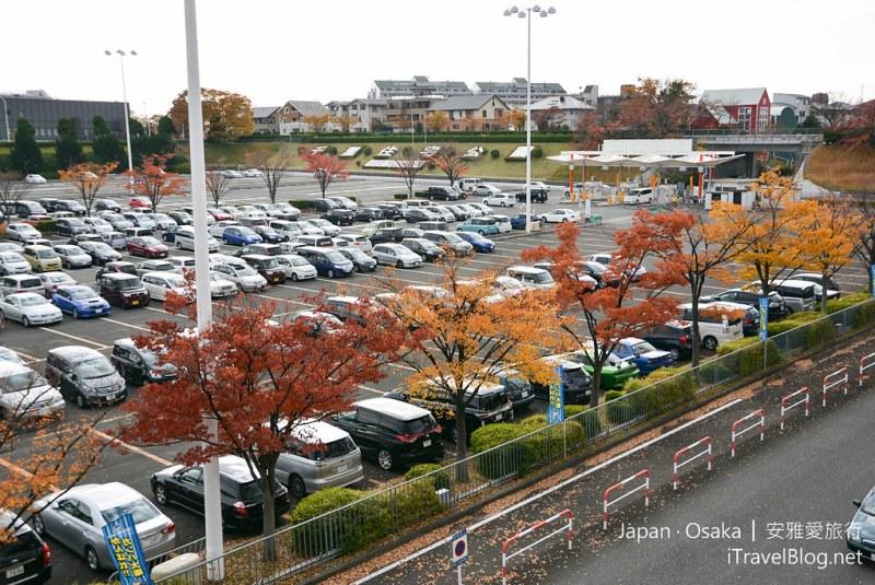 大阪赏枫 万博纪念公园 02