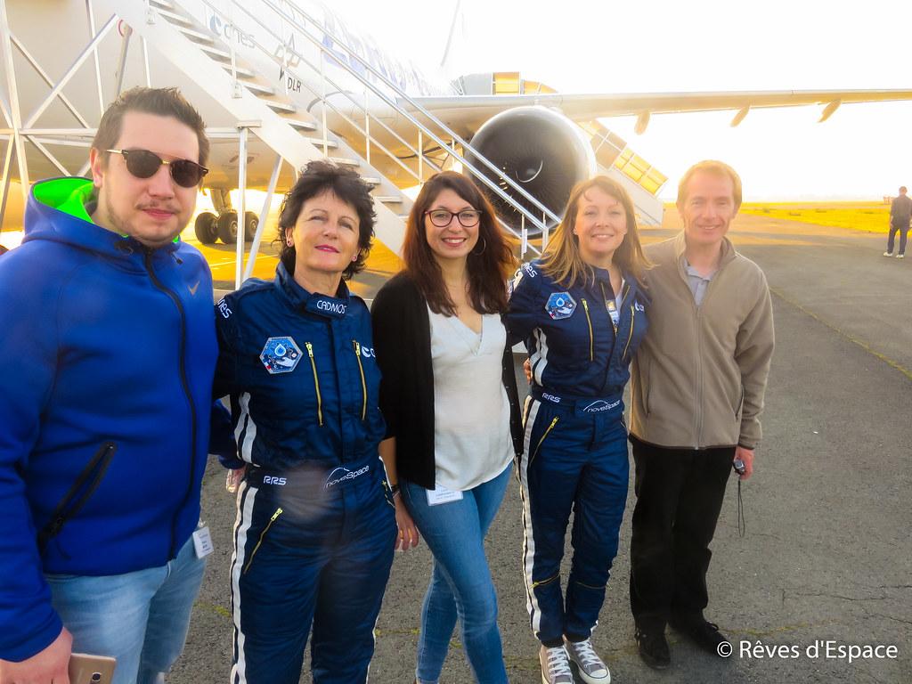 Vol parabolique CNES Novespace avril 2017