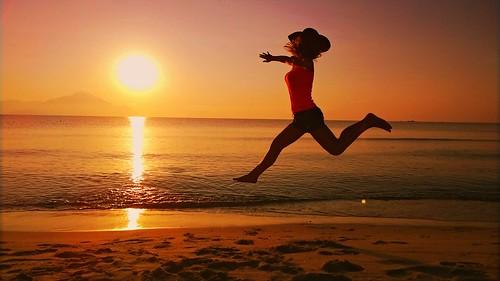 Sunrise jump! (Lumia 1020)