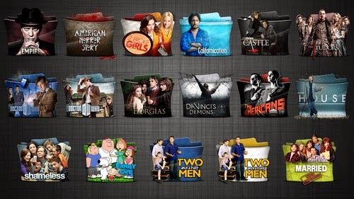TV Series Folder icons Pack 5 HD