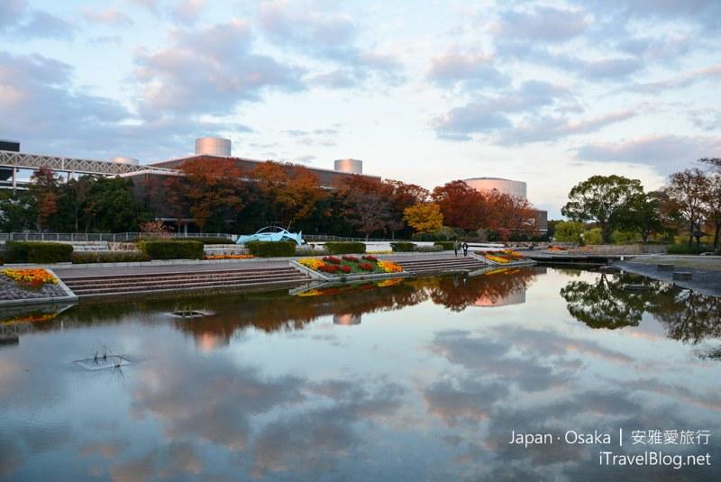 大阪赏枫 万博纪念公园 35