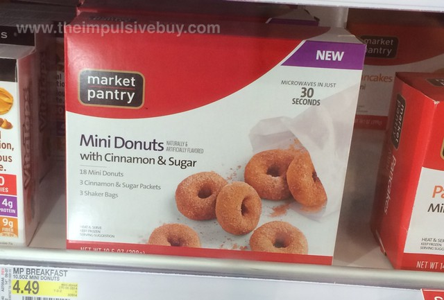 Market Pantry Mini Donuts with Cinnamon & Sugar