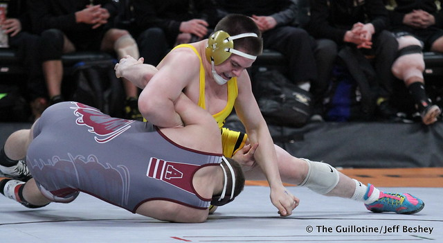182 - Dalton Miller (Anoka) over Jonah Johnson (Apple Valley) Dec 9-3
