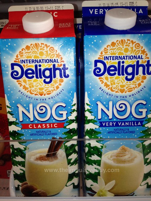 International Delight Nog (Classic and Very Vanilla)