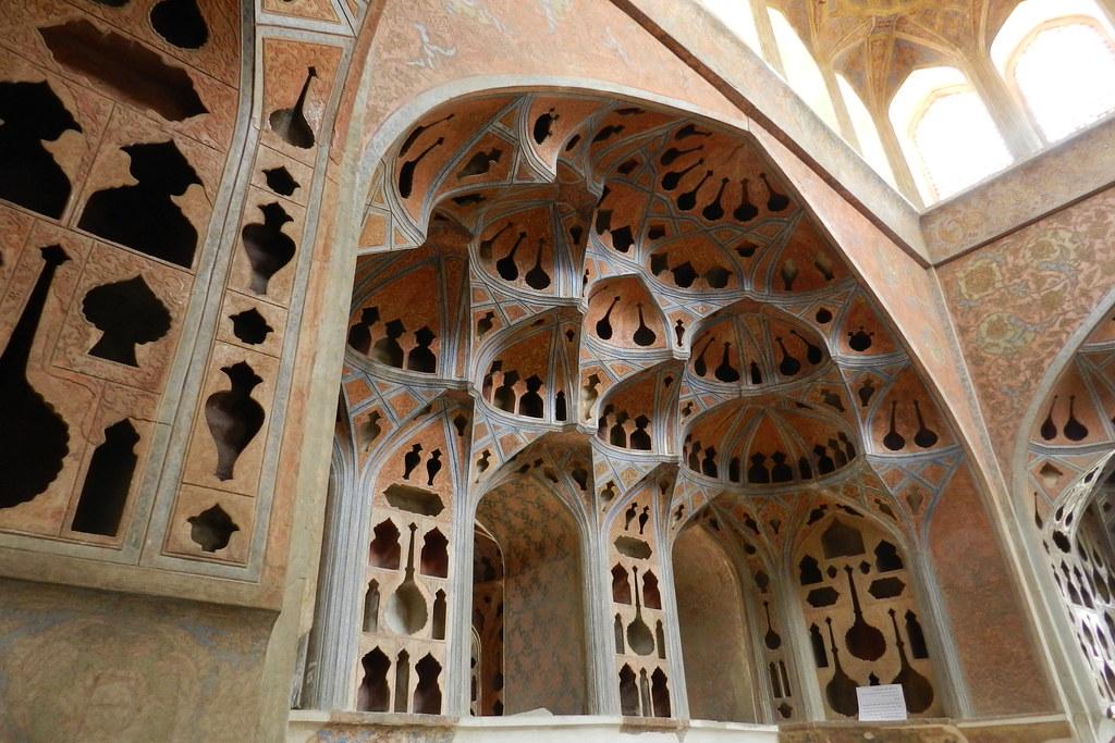 Palacio Ali Qapu Isfahán Irán 19